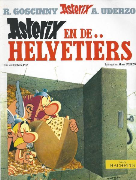 Asterix 16 Asterix en de Helvetiërs