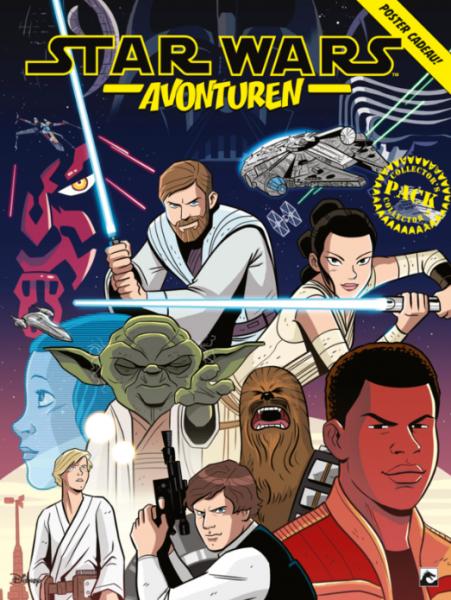 Star Wars - Avonturen INT 1 Collector's pack - Delen 1-3