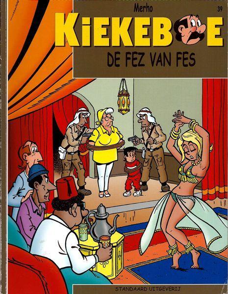 De Kiekeboes 39 De fez van Fes
