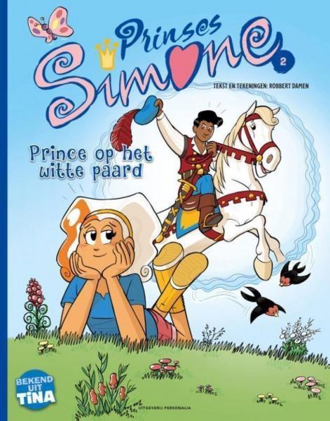 Prinses Simone 2 Prince op het witte paard