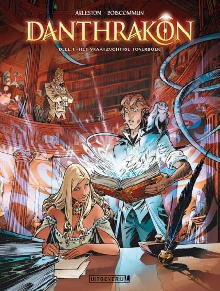 Danthrakon 1 Het vraatzuchtige toverboek