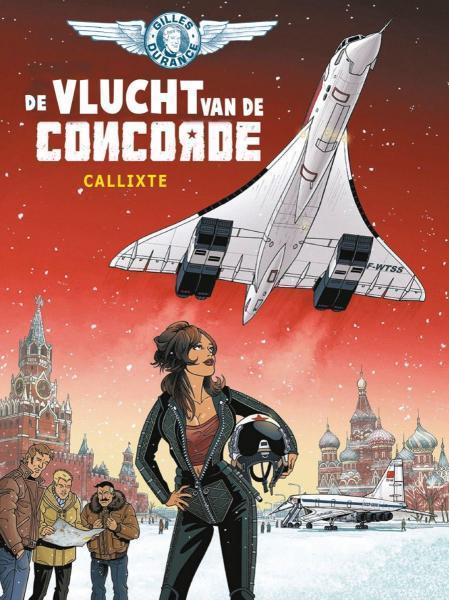 Gilles Durance 3 De vlucht van de Concorde