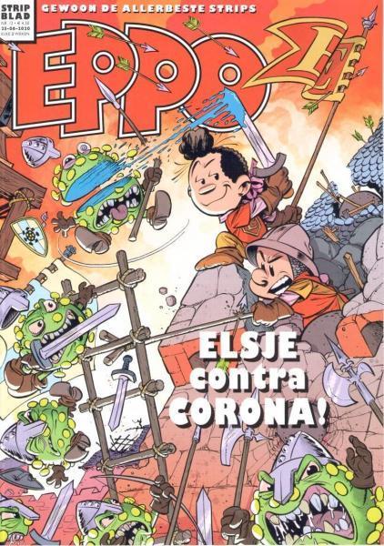 Eppo - Stripblad 2020 (Jaargang 12) 13 Nummer 13