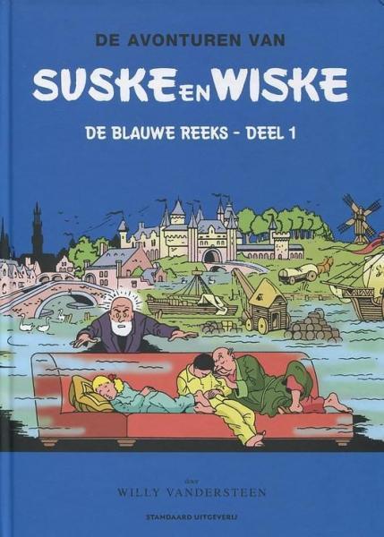Suske en Wiske - De blauw reeks integraal 1 Deel 1