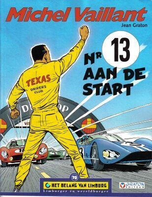 Michel Vaillant 5 Nr 13 aan de start