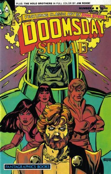 The Doomsday Squad 6 Number 6