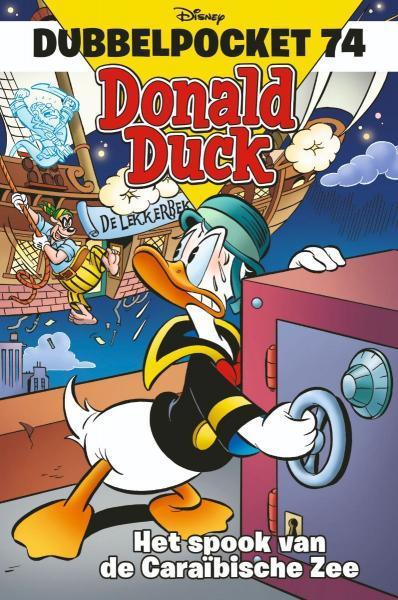 Donald Duck dubbel pocket 74 Het spook van de Caraïbische Zee