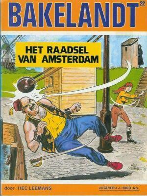 Bakelandt 22 Het raadsel van Amsterdam