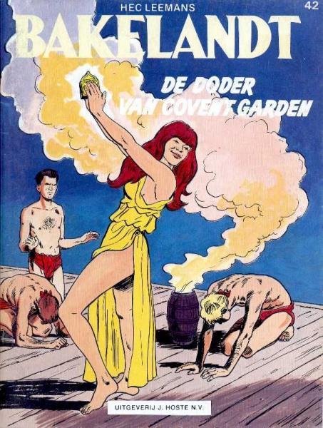 Bakelandt 42 De doder van Covent Garden