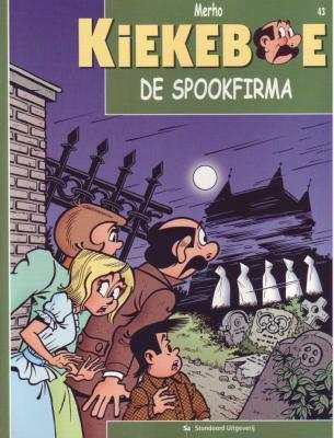 De Kiekeboes 43 De spookfirma