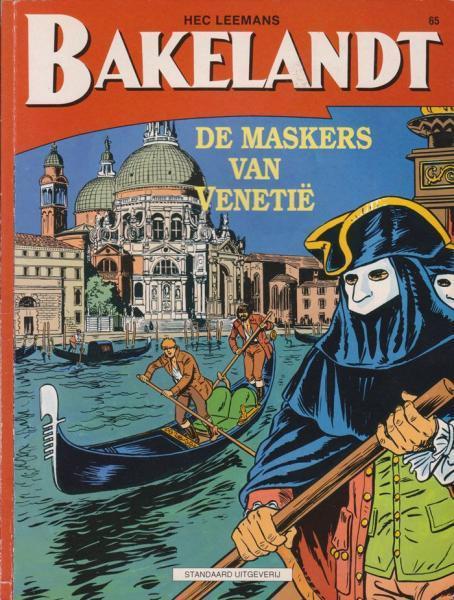 Bakelandt 65 De maskers van Venetië