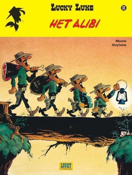 Lucky Luke (Nieuw uiterlijk - Dupuis/Lucky Comics) 59 Het alibi