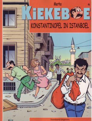 De Kiekeboes 46 Konstantinopel in Istanboel