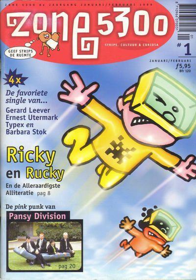 Zone 5300 - Tijdschrift 1999 1 Nummer 1