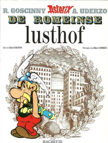 Asterix 18 De Romeinse lusthof