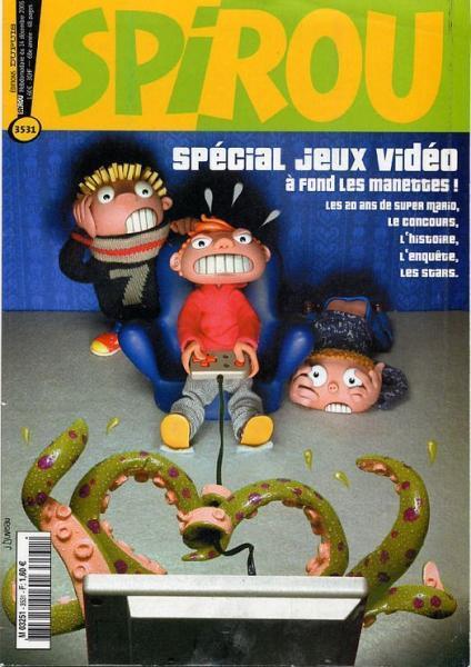 Spirou - Hebdo 2005 (68e année) 3531 Numéro 3531