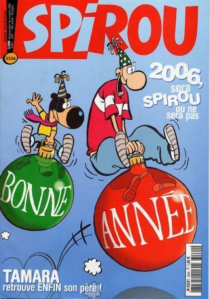 Spirou - Hebdo 2006 (69e année) 3534 Numéro 3534