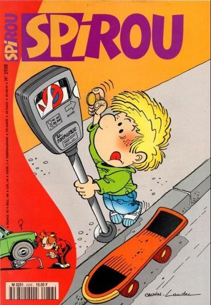 Spirou - Hebdo 1994 (57e année) 2938 Numéro 2938