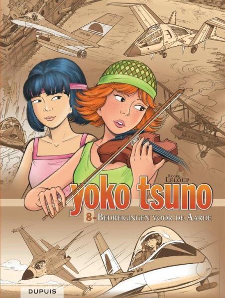 Yoko Tsuno INT 8 Bedreigingen voor de aarde
