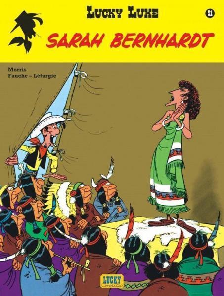Lucky Luke (Nieuw uiterlijk - Dupuis/Lucky Comics) 51 Sarah Bernhardt