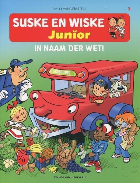 Suske en Wiske junior 3 In naam der wet!