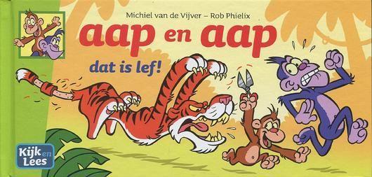 Aap en aap 1 Dat is lef!