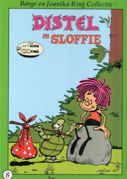 Borge en Joanika Ring collectie 8 Distel en Sloffie