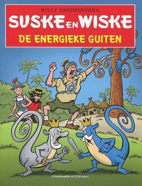 Suske en Wiske in het kort 18 De energieke guiten