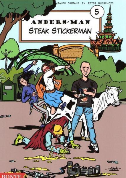Anders-Man 5 Steak Stickerman