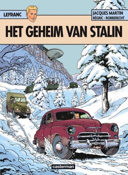 Lefranc 24 Het geheim van Stalin