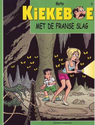 De Kiekeboes 51 Met de Franse slag