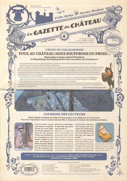 Le château des animaux 6 La gazette du château n°6