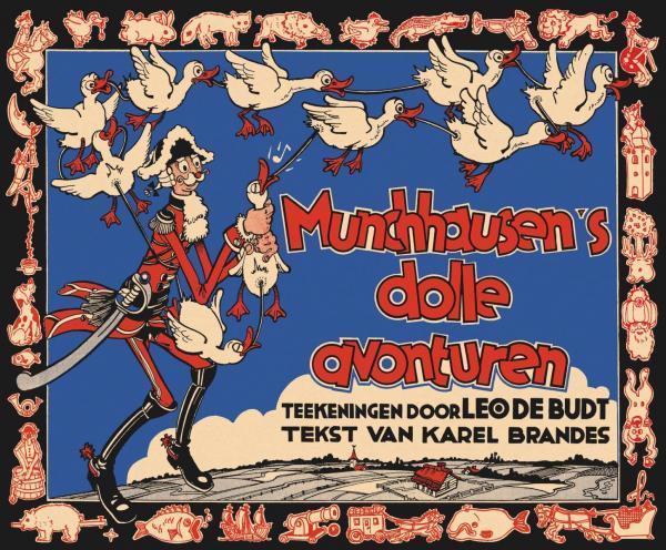 Munchhausen's dolle avonturen 1 Munchhausen's dolle avonturen
