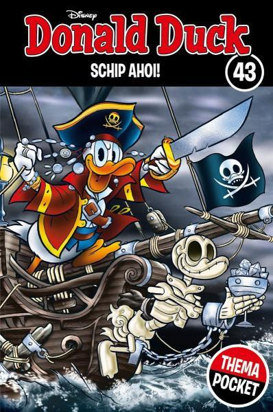 Donald Duck dubbelpocket extra 43 Schip ahoi!