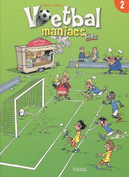 Voetbal maniacs kids 2 Deel 2
