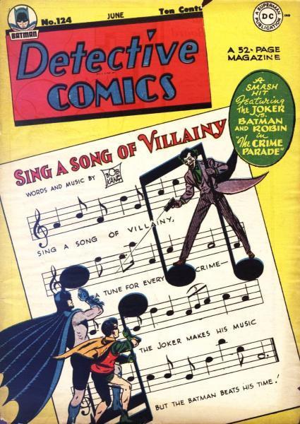 detective comics temp - te verplaatsen naar hoofdreeks 124 Issue #124
