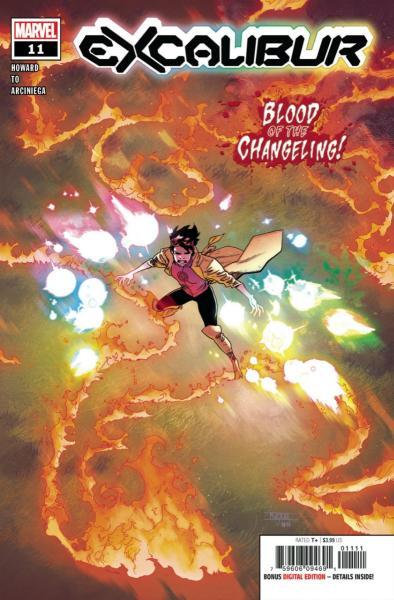 Excalibur (Marvel) C11 Blood of the Changeling