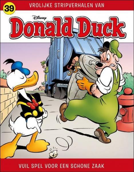 Donald Duck: Vrolijke stripverhalen 39 Vuil spel voor een schone zaak