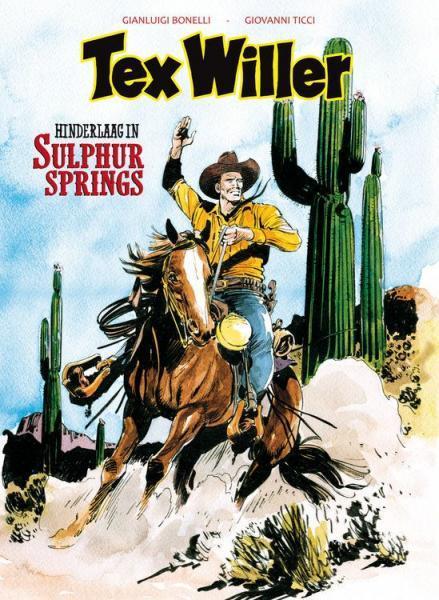 Tex Willer (Hum!) 9 Hinderlaag in Sulphur Springs