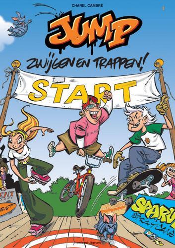 Jump 1 Zwijgen en trappen!