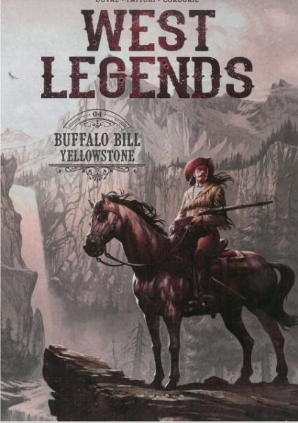 West legends 4 Buffalo Bill - Yellowstone