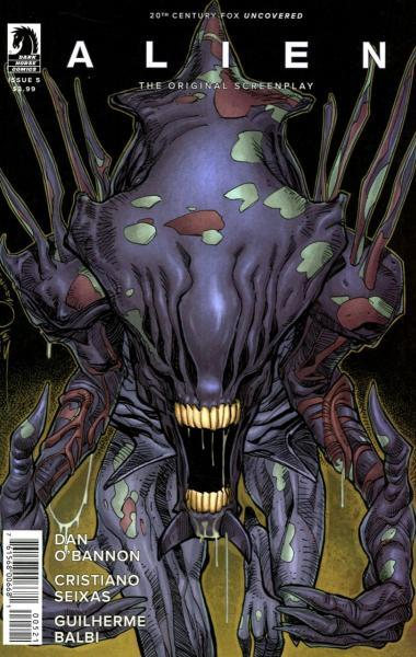 Alien: The Original Screenplay 5 Issue #5