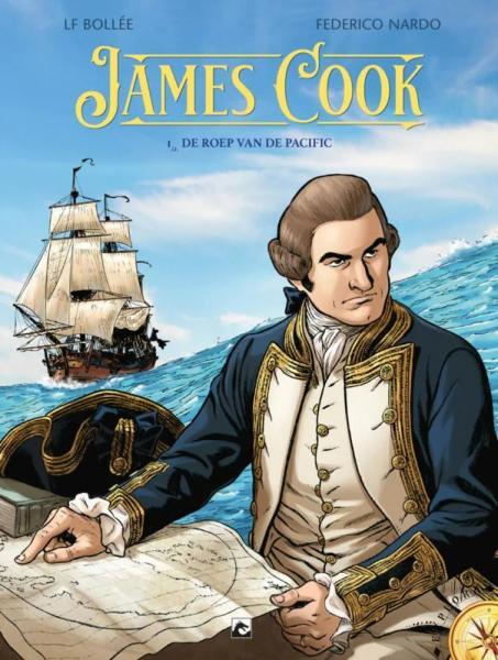 James Cook 1 De roep van de Pacific
