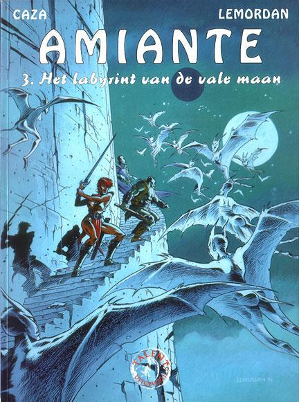 Amiante 3 Het labyrint van de vale maan