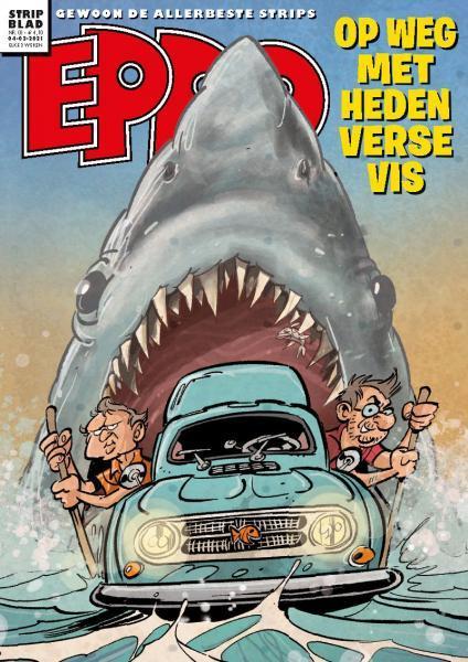 Eppo - Stripblad 2021 (Jaargang 13) 3 Nummer 3