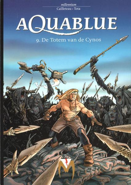 Aquablue 9 De totem van de Cynos