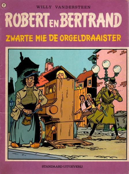 Robert en Bertrand 12 Zwarte Mie de orgeldraaister