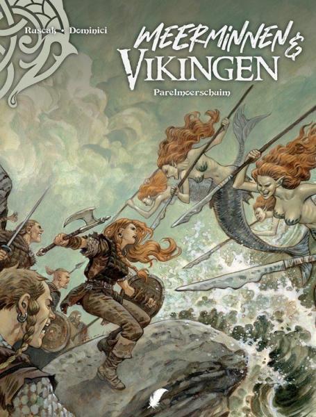 Meerminnen & Vikingen 2 Parelmoerschuim