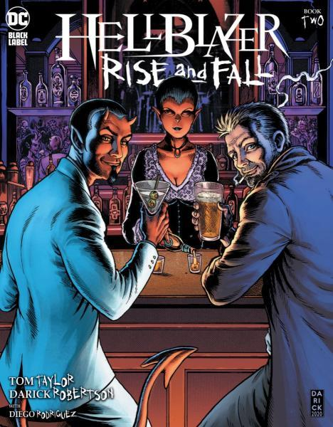 Hellblazer: Rise and Fall 2 Issue #2