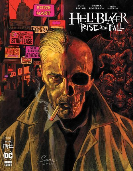 Hellblazer: Rise and Fall 3 Issue #3